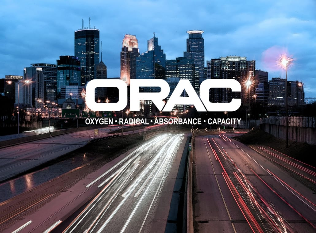 Drink ORAC Teas, ORAC over Minneapolis