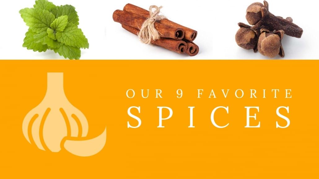 Our favorite spices for making tea