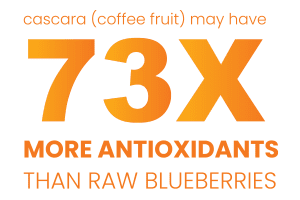 73 times more antioxidants then blueberries